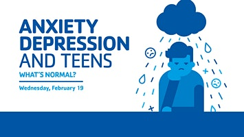 Shady Grove YMCA Community Conversations: Anxiety, Depression & Teens: What's Normal?