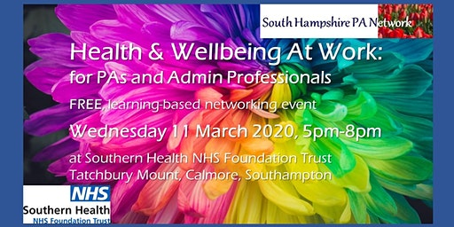 South Hampshire PA Network: Health & Wellbeing Event