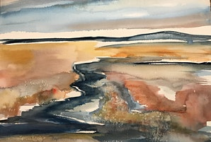 Watercolour workshop with Sarah Knox - a World of Beginnings