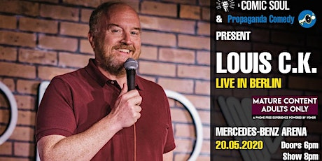 POSTPONED: Louis C.K. live in Berlin tickets