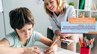 Evaluación e Intervención Neuropsicológica en Niños tickets