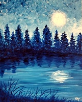 Blue Lake, Paint And Wine Event