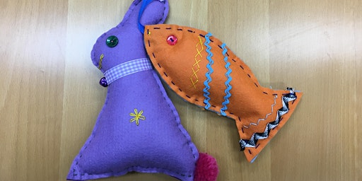 Holiday Makers - Hand-Stitched Soft Toys - Dotty Dog & Friends