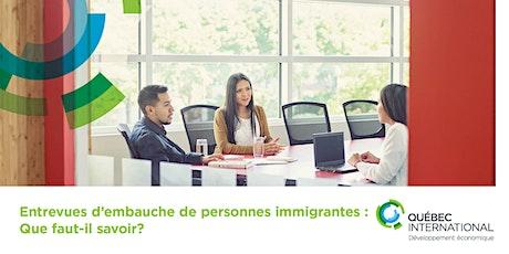 Considérer les différences culturelles lors des entretiens d'embauche billets