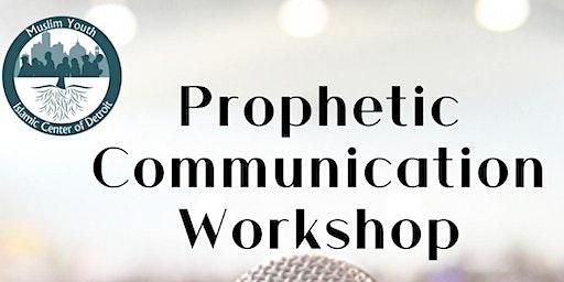 Prophetic Communication Workshop (Public Speaking) with Br. Omar Usman