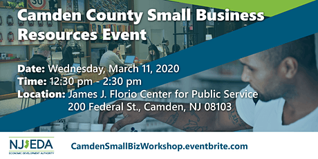 Camden County Small Business Resources Workshop tickets