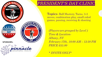PRESIDENTS DAY PRO CLINIC