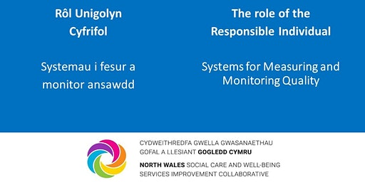 Rôl Unigolyn Cyfrifol Systemau i fesur a monitor ansawdd /Responsible Individual Role  Systems for measuring and monitoring quality