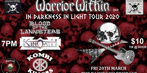 Warrior Within In Darkness In Light Tour 2020