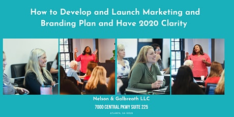 Develop and Launch Your Marketing and Branding Plan with 2020 Clarity tickets