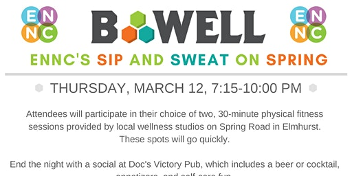 Sweat and Sip on Spring Road: ENNC's Fitness Crawl