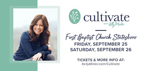 Cultivate®- Sept 25 - 26, 2020 | Statesboro, GA
