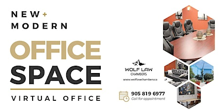Open House at Wolf Law Chambers Mississauga tickets