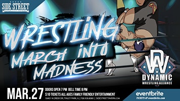 Dynamic Wrestling Alliance 3/27/20 Pro Wrestling
