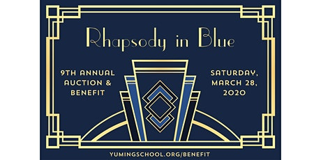 POSTPONED: Yu Ming's 9th Annual Auction & Benefit - 'Rhapsody in Blue' tickets