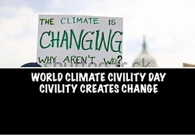 WORLD CLIMATE CIVILITY DAY CONFERENCE