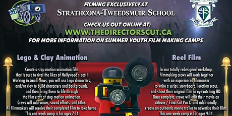 Strathcona Tweedsmuir Digital Film Making Camp tickets