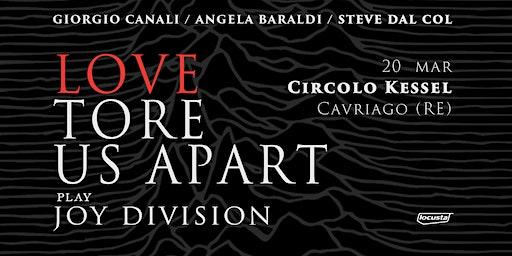 Canali / Baraldi / Dal Col Play Joy Division | Cav
