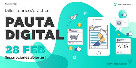Pauta Digital #Workshop entradas