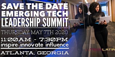 Emerging Technology Leadership Summit -Atlanta, GA. tickets