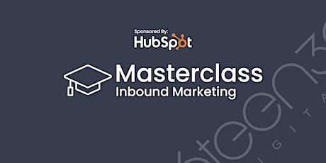 Inbound Marketing Masterclass - Sponsored By HubSpot tickets