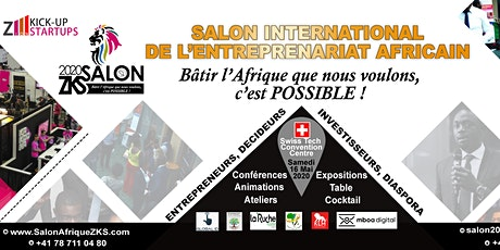 Salon International de l'Entrepreneuriat Africain billets