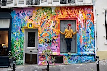 Balade street-art Instagram à Paris Montmartre, avec shooting photo billets