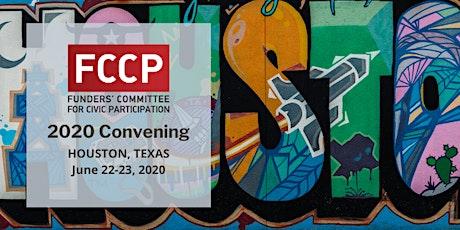FCCP 2020 Convening tickets