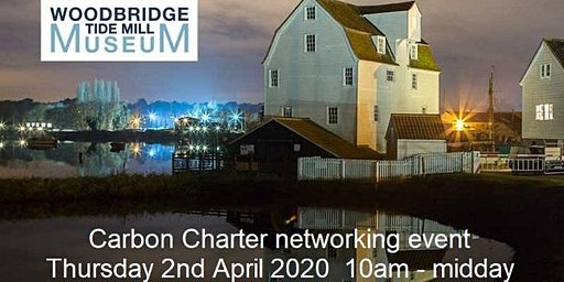 The Carbon Charter 'Inside Track' networking event at TIDE MILL