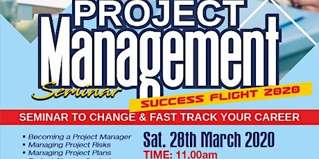 Project Management Seminar for non Project Managers - Success Flight 2020 tickets