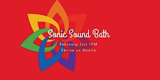 Sonic Soundbath