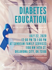 Diabetes Education tickets