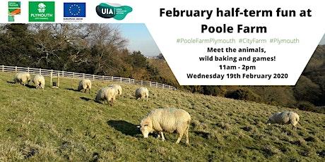 February half-term fun at Poole Farm! tickets