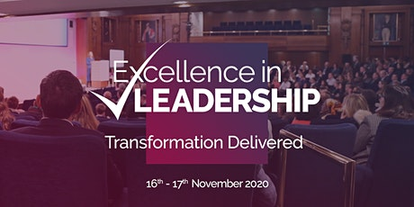Excellence in Leadership: Transformation Delivered tickets