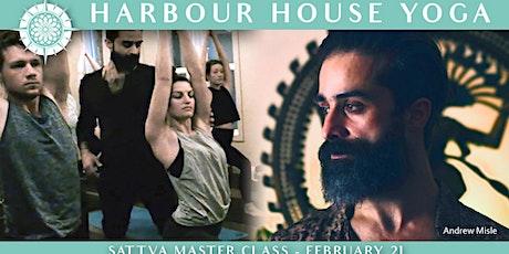 Sattva Restorative Masterclass with Andrew Misle tickets