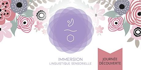 """Journée découverte immersion linguistique sensorielle PRINTEMPS"""" billets"""