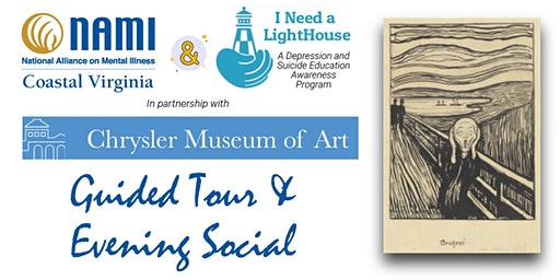 Edvard Munch Guided Tour & Social + Local Mental Health Resources & Info