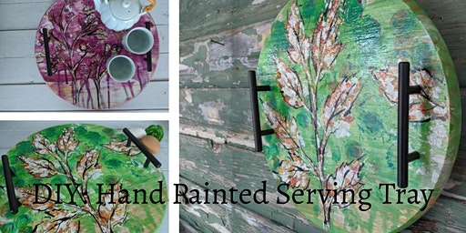 DIY: Hand Painted Serving Tray by ChickenWares
