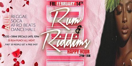 Rum & Riddims Happy Hour  tickets