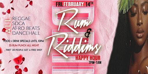 Rum & Riddims Happy Hour