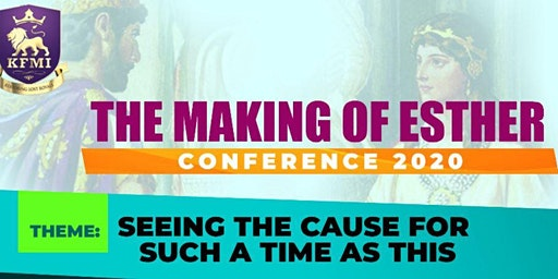 The Making of Esther Conference 2020
