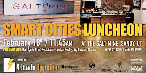 February Smart Cities Luncheon with Utah Ignite Grant Winners