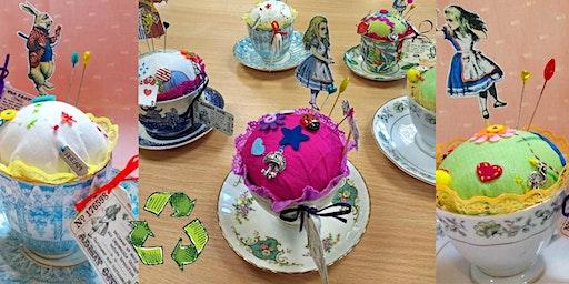 Vintage Tea Cup Pincushion Workshop