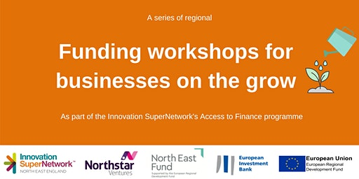 Funding workshop for businesses on the grow - Gateshead