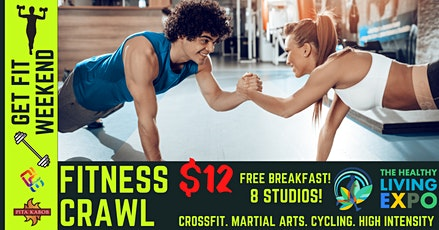 Pita Kabob Fitness Crawl(Healthy Living EXPO Weekend) tickets