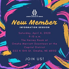 Junior League of Omaha New Member Info Session tickets
