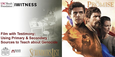 Film with Testimony: Primary and Secondary Sources to Teach about Genocide tickets