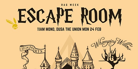 RAG Week Escape Room tickets