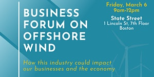 MA Business Forum on Offshore Wind