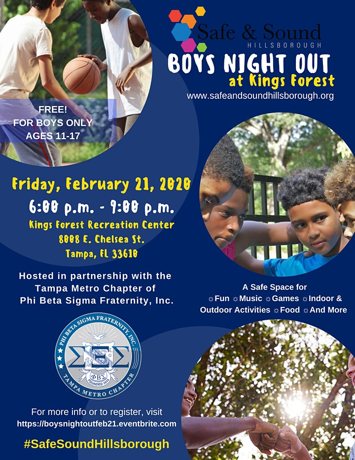 Boys Night Out - February 2020 image